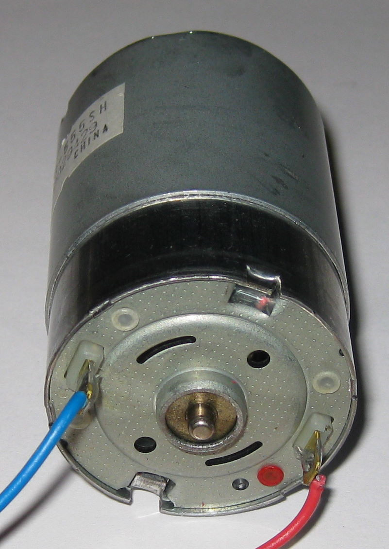 Mabuchi Rs 555sh Motor With Pulley 18v 3700 Rpm
